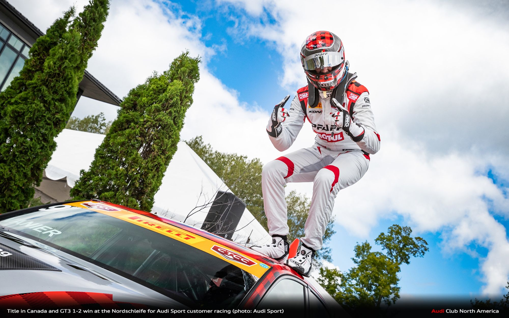 Title in Canada and GT3 1-2 win at the Nordschleife for Audi Sport customer racing