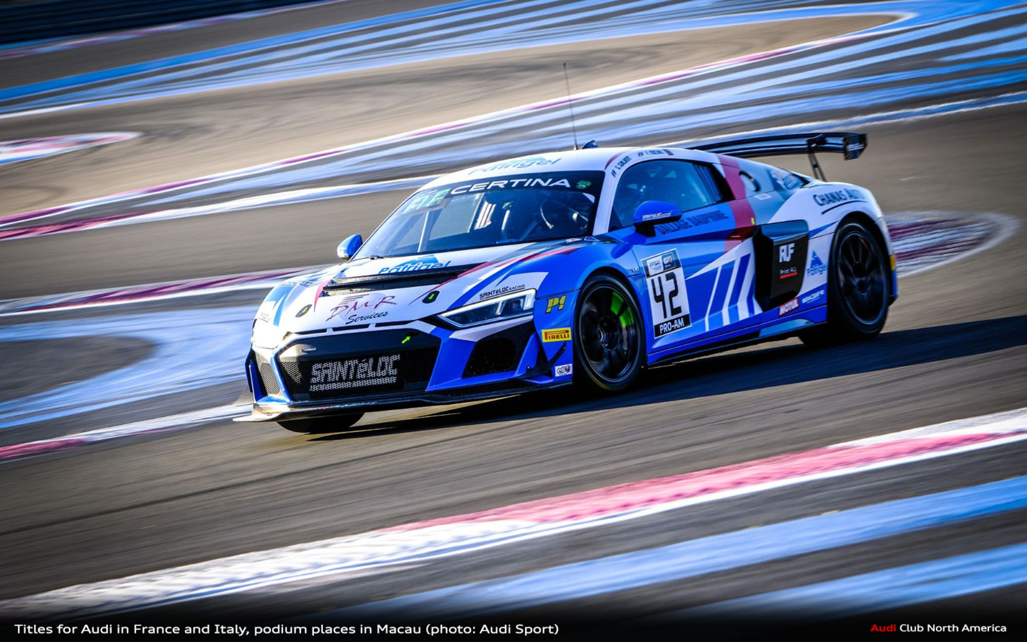Titles for Audi in France and Italy, Podium Places in Macau
