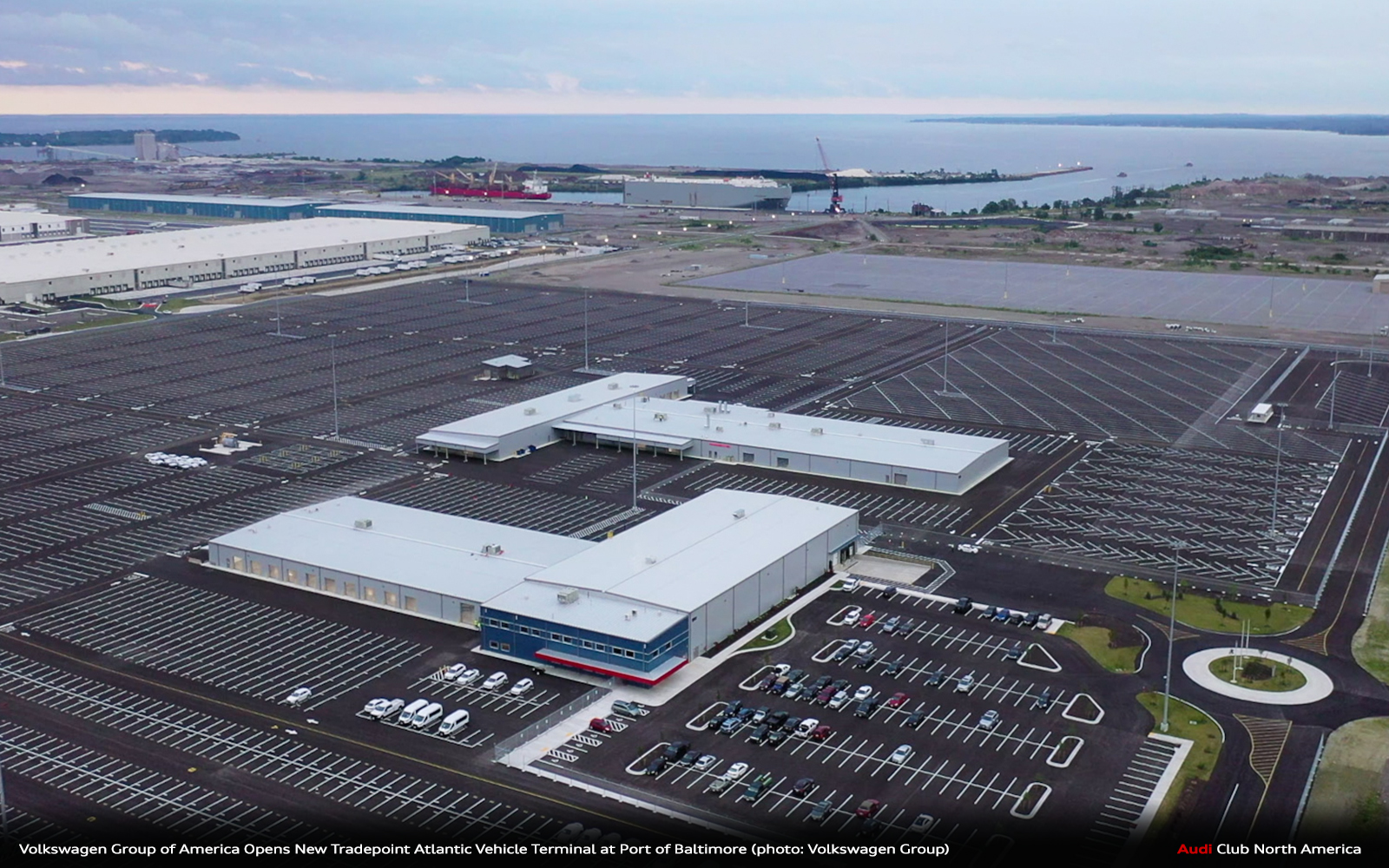 Volkswagen Group of America Opens New Tradepoint Atlantic Vehicle Terminal at Port of Baltimore