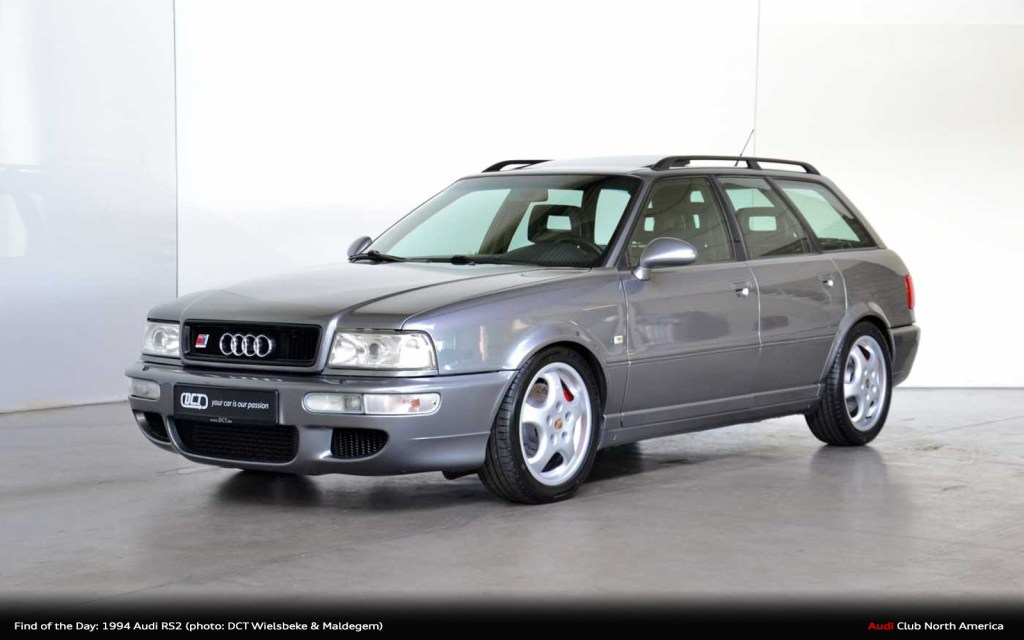 Find of the Day: 1994 Audi RS2