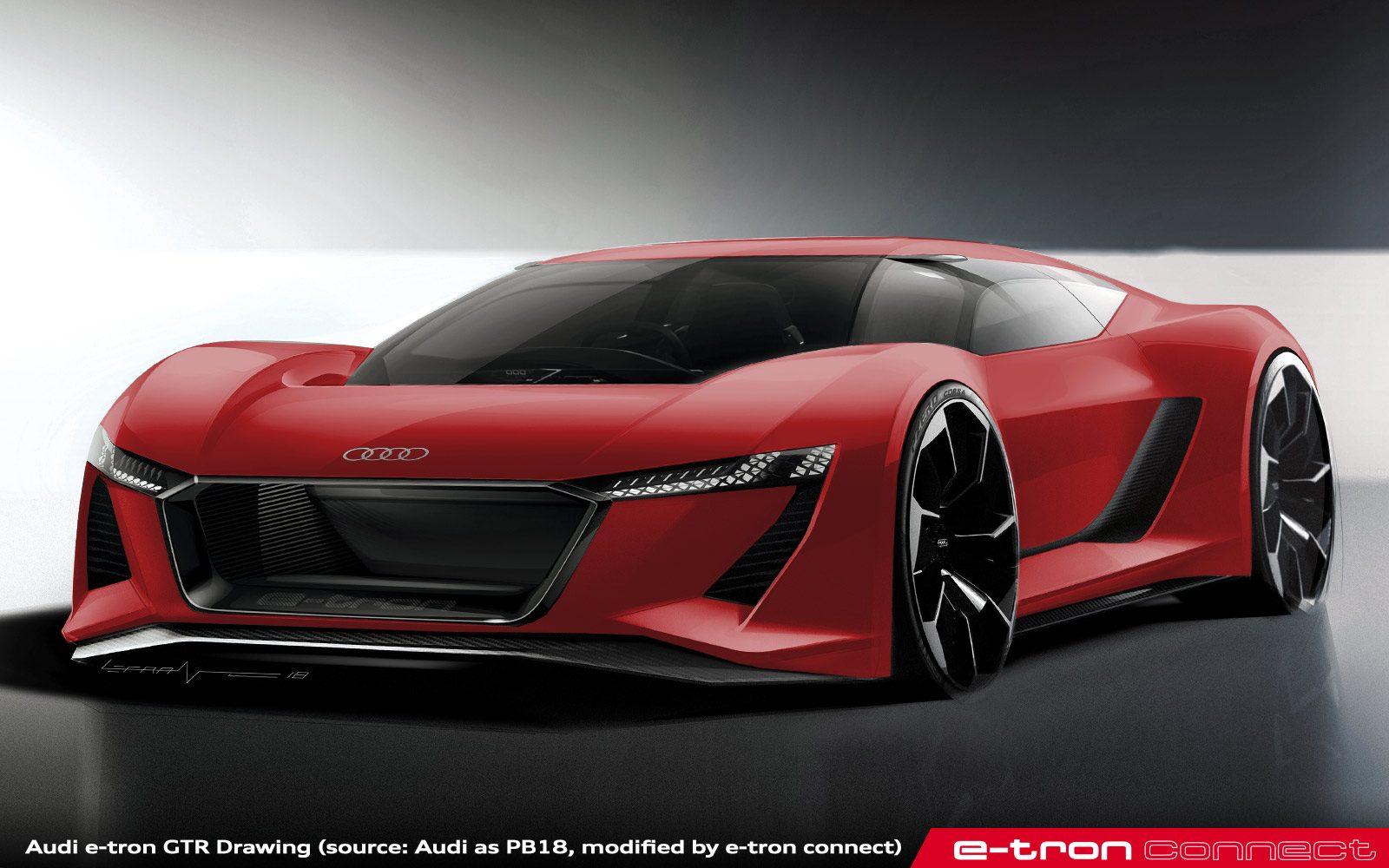 e-tron connect: Rumor: Audi Plans R8 Replacement Dubbed e-tron GTR