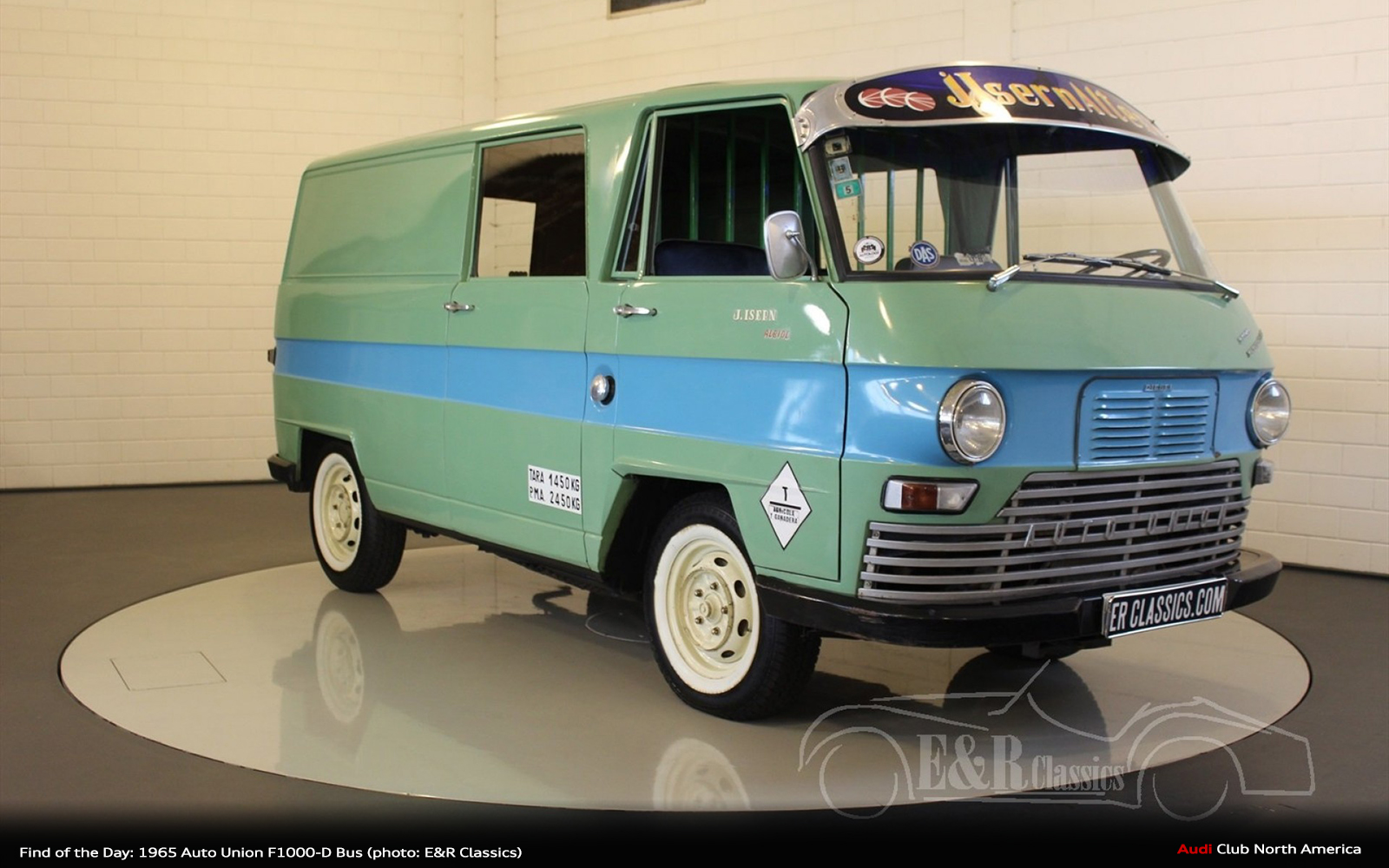 Find of the Day: 1965 Auto Union F1000-D Bus