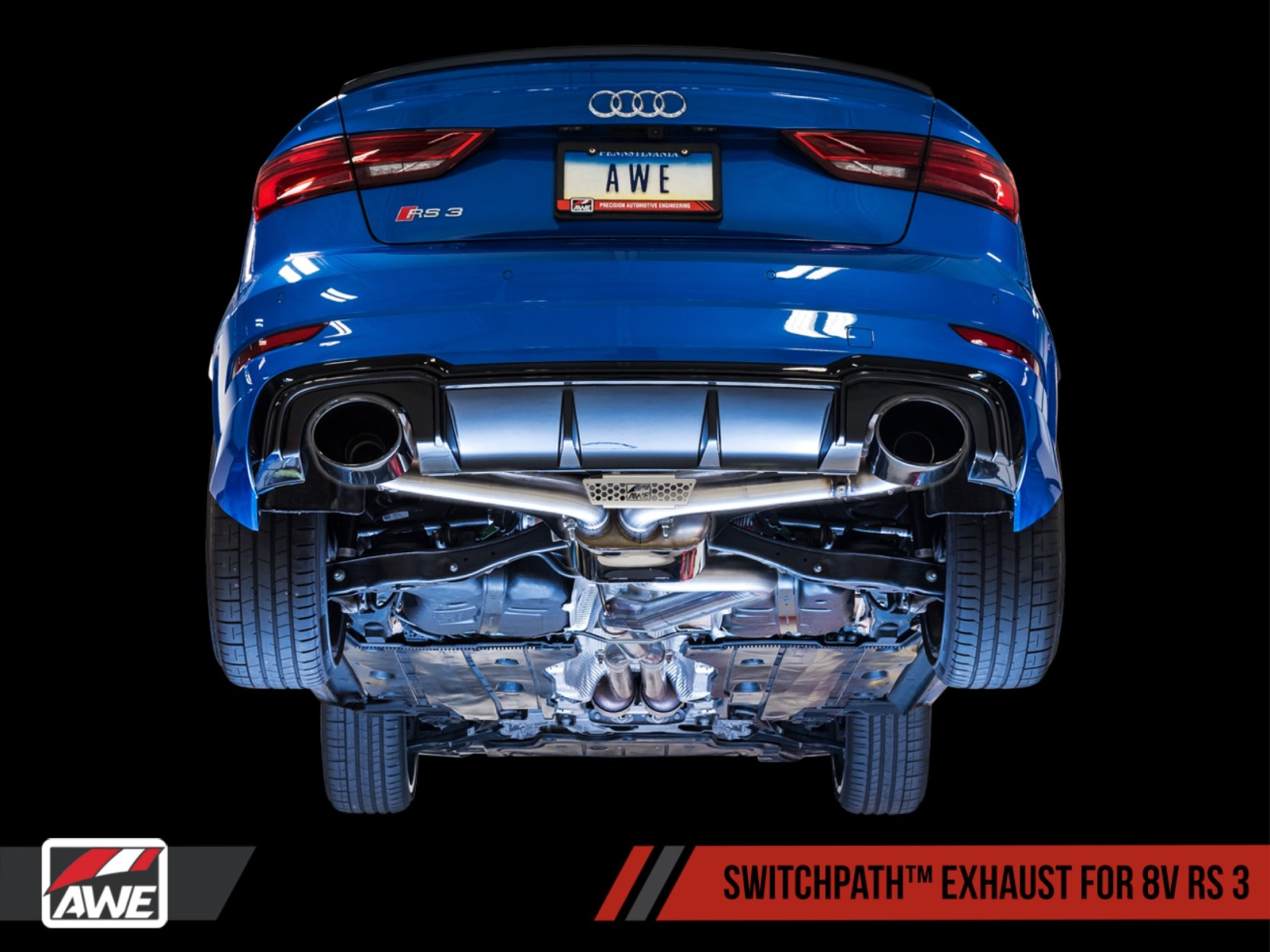 AWE Releases New Exhaust Suite For The Audi 8V RS 3