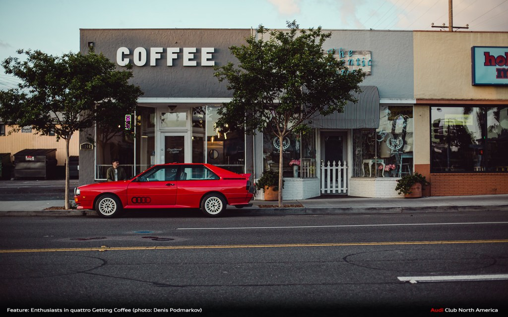 Gallery: Enthusiasts in quattro Getting Coffee