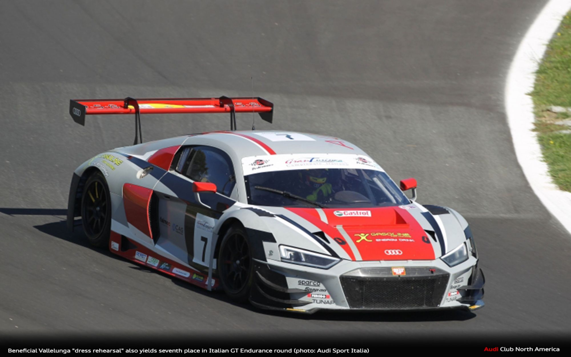 "Beneficial Vallelunga ""Dress Rehearsal"" Also Yields Seventh Place In Italian GT Endurance"
