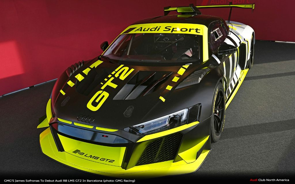 GMG'S James Sofronas To Debut Audi R8 LMS GT2 In Barcelona