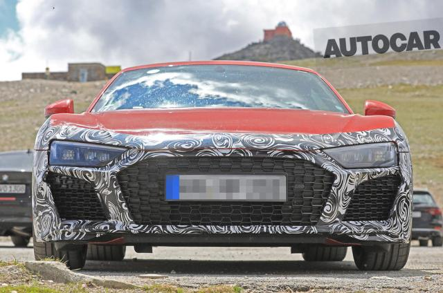 Facelift Audi R8 Spied Again Rumored With 29 Biturbo From Rs 5