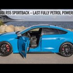 2022 AUDI RS5 SPORTBACK – 600NM/450HP – LAST FULLY PETROL POWERED RS5, AWESOME SPEC – TURBO BLUE  4K