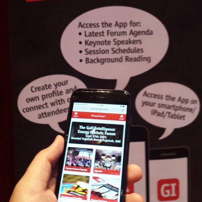 Energy Markets Forum 2015 – Event App and Interactive Voting