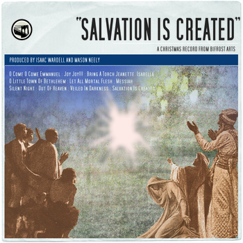 Salvation is created album cover