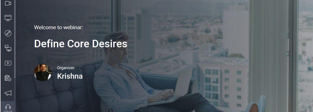 ClickMeeting_Define Core Desires Event Room 27-May-2019