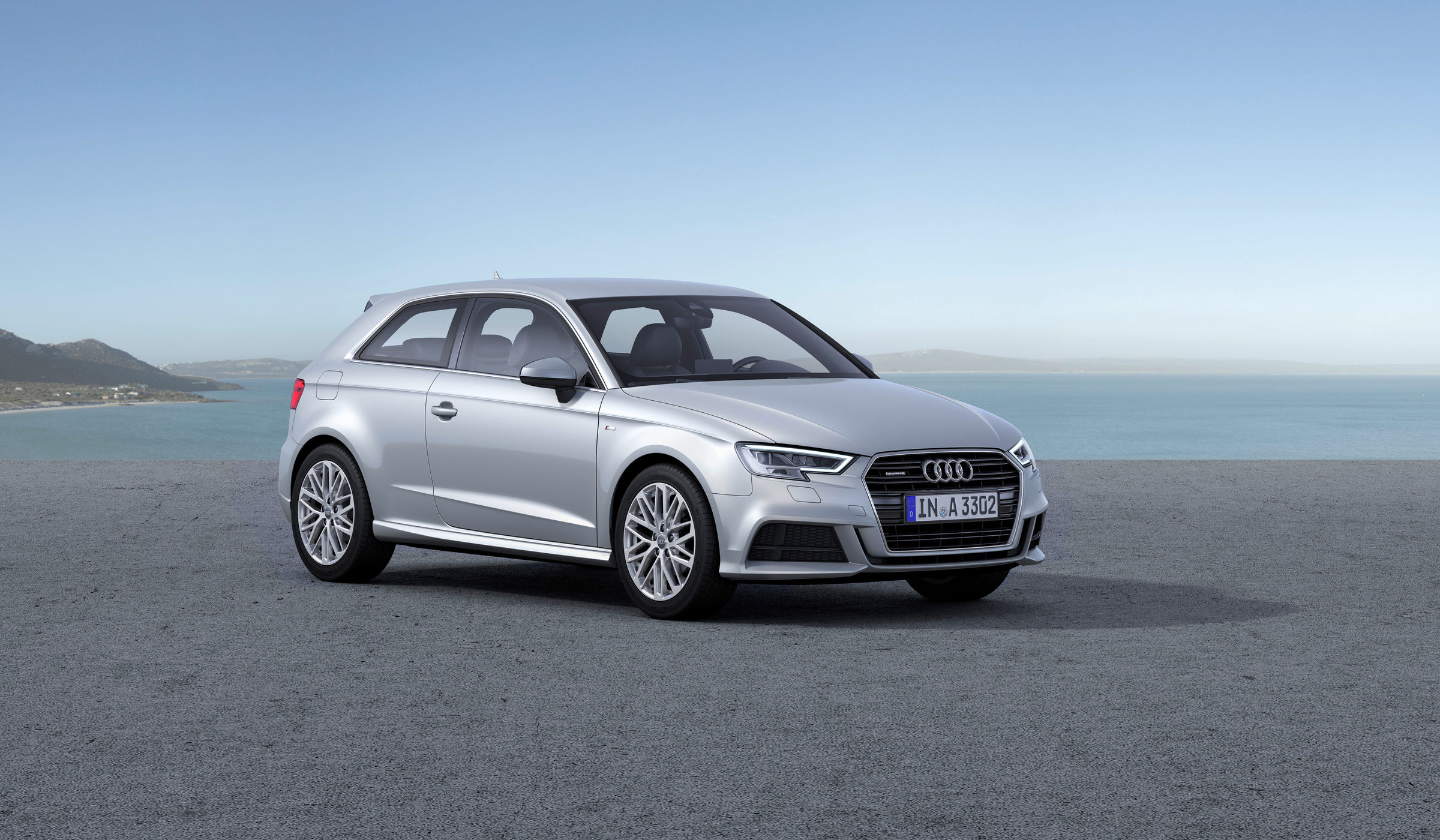 hight resolution of audi a3