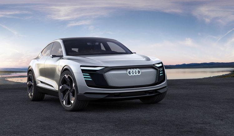 The Architecture Of E Mobility Audi E Tron Sportback Concept Audi