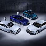 Efficient And Powerful The New Plug In Hybrid Models Audi Q5 A6 A7 And A8 Audi Mediacenter