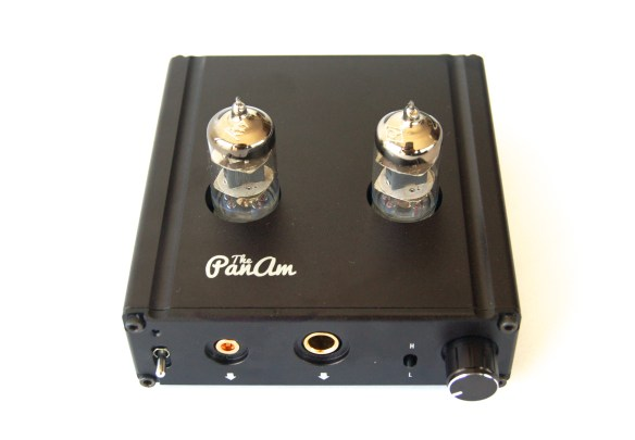 ALO Pan Am Tube Amplifier and USB DAC