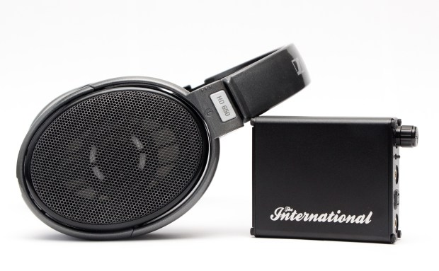 International With the Sennheiser HD650