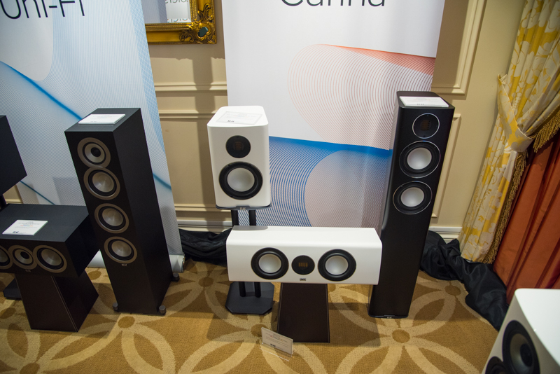 The ELAC Carina Series from CES 2019.