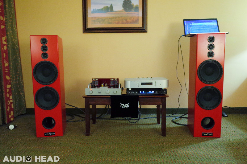 Tekton Design, Raven Audio at Lone Star Audio Fest 2019.