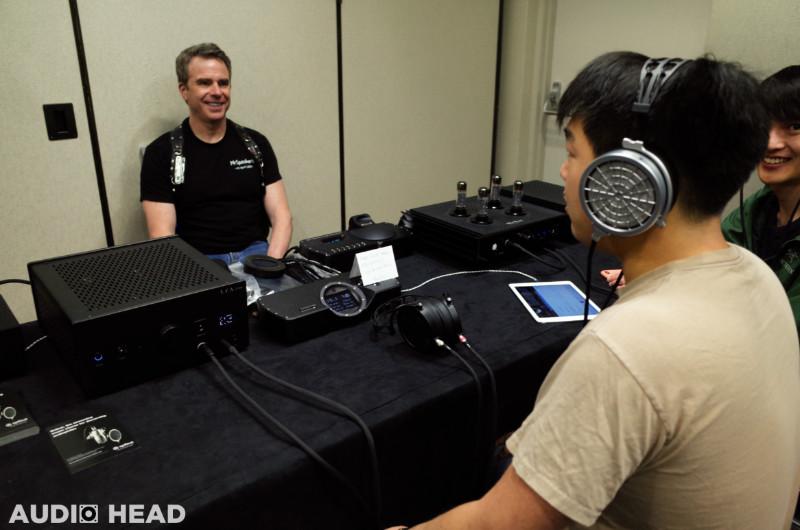 Dan Clark of MrSpeakers and the VOCE headphone