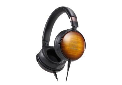 Audio Technica Unveils 3 Wood-Based Audiophile Headphones – CES 2020