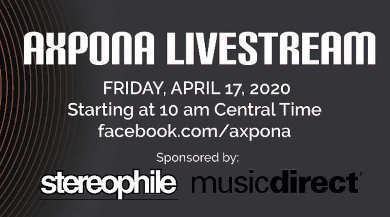 Michael Fremer and Bes Nievera To Host AXPONA Livestream on Friday