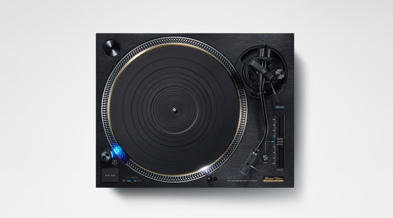 Technics SL-1210GAE 55th anniversary edition turntable.