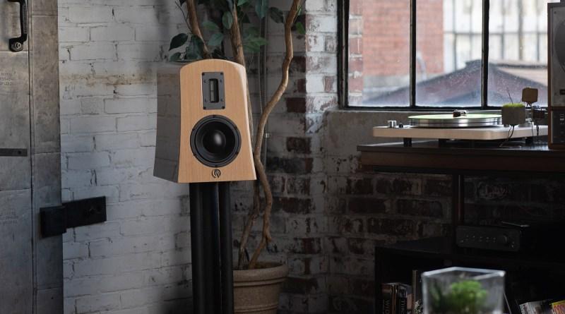 Alta Audio Alyssa Bookshelf Standmount speaker.