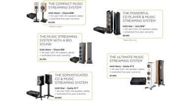 Bundle Prices For Focal And Naim Drop In Time For The Holidays