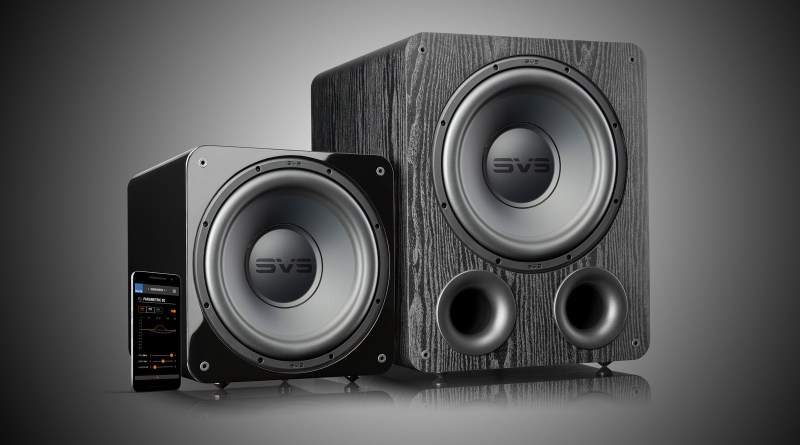 The SVS 1000 Pro series. The SVS PB-1000 Pro and the SB-1000 Pro