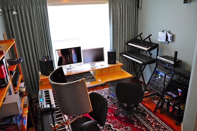 Building A Small Recording Studio
