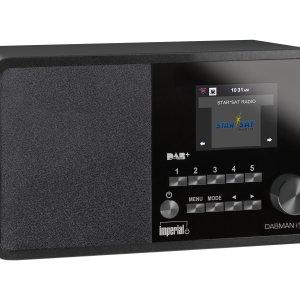 Imperial Dabman i150 DAB+ en Internetradio (Zwart)