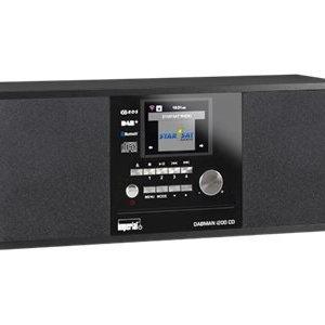 Imperial Dabman i200 CD Stereo DAB+ en Internetradio (Zwart)