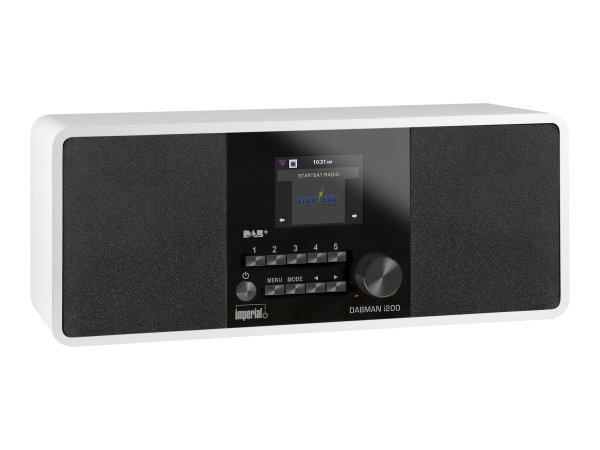 Imperial Dabman i200 Stereo DAB+ en Internetradio (Wit)