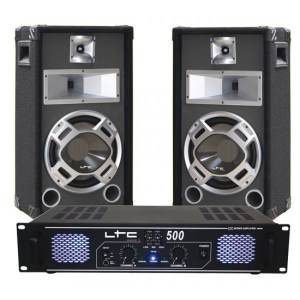 LTC Audio DJ pack 2 x 250W
