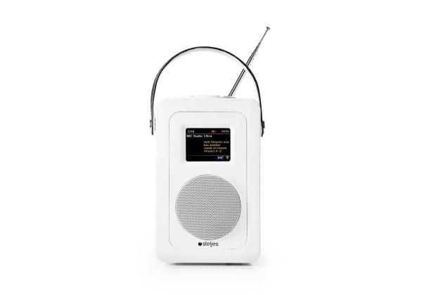 Steljes Audio: SA60 Digitale radio DAB+ - Wit
