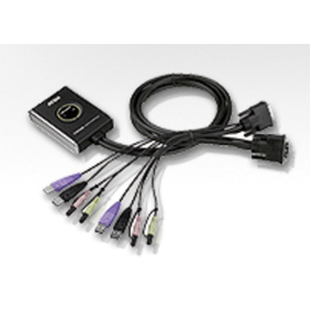 Aten CS682 2-poorts KVM switch (DVI/USB/AUDIO)