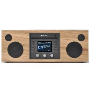 Como Audio: Musica - DAB + / FM-radio met internetradio en CD-speler - Hickory
