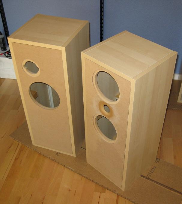 Woodwork Speaker Cabinets Building PDF Plans