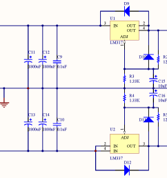 minipow lm317 337 bipolar power supply circuit diagram power supply circuit 18v bipolar regulated voltage [ 1926 x 828 Pixel ]