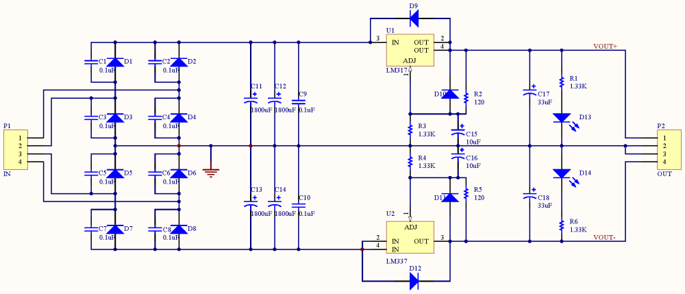 medium resolution of minipow lm317 337 bipolar power supply circuit diagram power supply circuit 18v bipolar regulated voltage