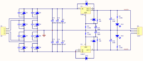 small resolution of minipow lm317 337 bipolar power supply circuit diagram power supply circuit 18v bipolar regulated voltage