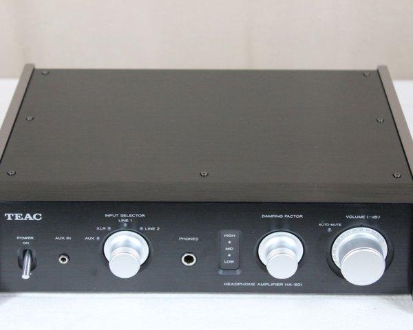 TEAC ティアック ヘッドホンアンプ HA-501-Bの買取