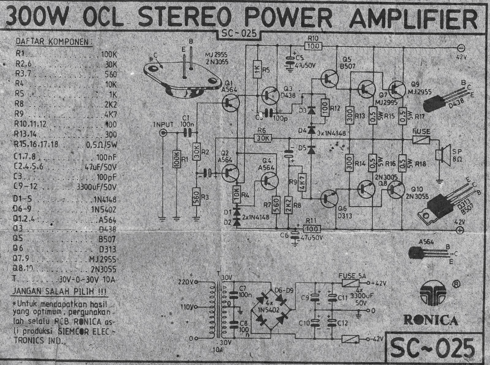 hight resolution of 300w power amplifier ocl circuit audiobbm com let s do it simple electric generator diagram http polnischesteinkohleeu