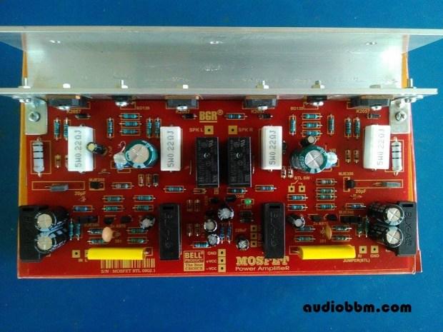 Power Amplifier Ocl 50w By Mosfet K1058 J162