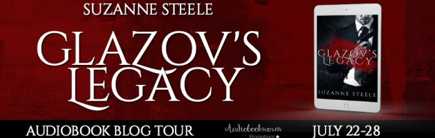 🎧 Audio Blog Blog Tour: Glazov's Legacy by Suzanne Steele
