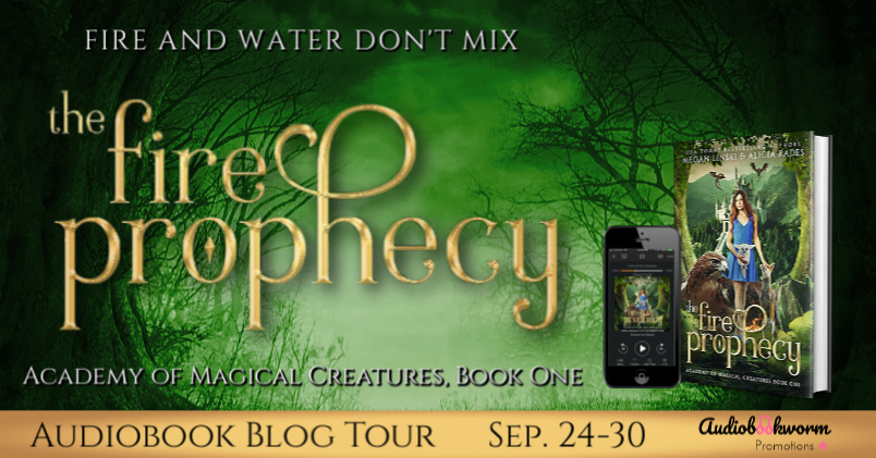 Audiobook Tour: The Fire Prophecy by Megan Linski & Alicia Rades