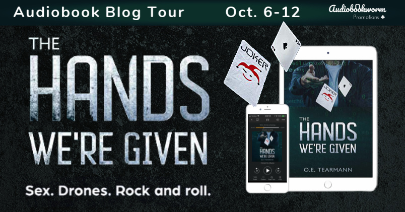 Audiobook Tour: The Hands We're Given by O.E. Tearmann