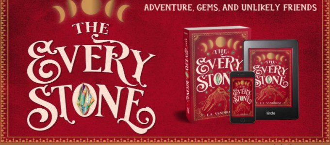 ⭐️ New Audio Blog Tour: The Every Stone by E.A. Sandrose
