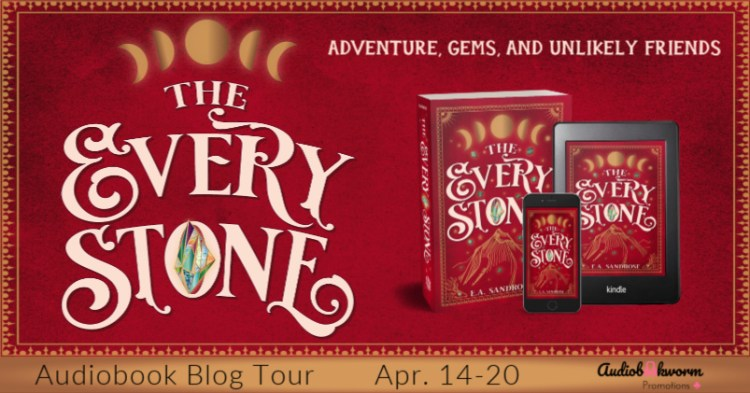 Audiobook Blog Tour: The Every Stone by E.A. Sandrose
