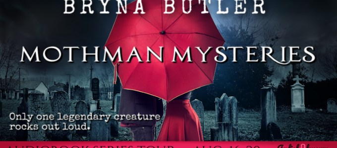 ⭐️ Audio Series Tour: Mothman Mysteries by Bryna Butler